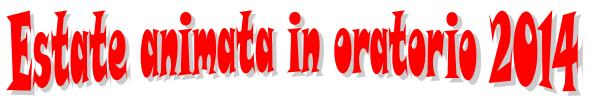 Logo Estate Animata 2014