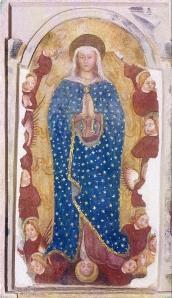 Immagine B.V. Maria venerata nel santuario di Arcagna (Lodi)