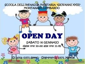 Locandina Open day 2016