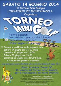 Locandina Torneo di Mini Golf_1