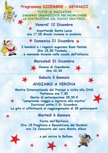 Eventi Dic. 2014 - Gen. 2015