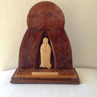 Madonna del Gabon incisione di Adriano Zaniboni